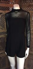 BNWT Asos Collar Chiffon Jumpsuit/ Playsuit Uk Size 8