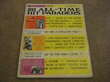 20 All Time Hit Paraders Vocal Song Album Songbook
