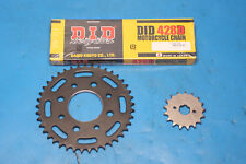 Keeway Superlight 125 EFI model chain and sprocket kit DID standard