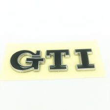 1PC - BLACK GTI LETTERING BADGE EMBLEM FIT VOLKSWAGEN VW GOLF MK7 FREE SHIPPING