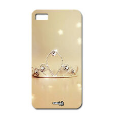 CUSTODIA COVER CASE CORONA PRINCIPESSA STELLE LUCI PER iPHONE 6 4.7""