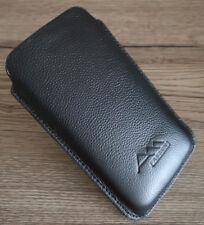 ASSEM Samsung Galaxy A30/A50 echt Leder Handy Tasche Hülle Etui case cover