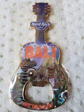 NEW Hard Rock Hotel Cafe BALI Indonesia Bottle Opener Guitar Magnet