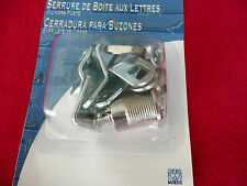 ILCO 114-14-51 MAILBOX LOCK WITH NUT, TWO CO106 KEYS INCLUDED, UPC 036448051359