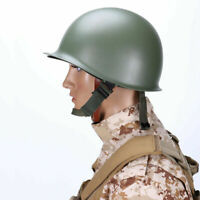 WWII US M1 Helmet Military Steel ABS Cosplay Army Tactical Collectable Replica