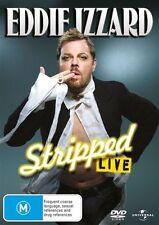 Eddie Izzard : STRIPPED (Live) : NEW DVD