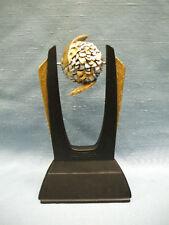 Cheerleader trophy resin spin ball award