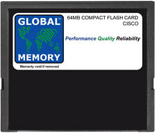64MB COMPACT FLASH CARD MEMORY FOR CISCO 3745 ROUTER ( MEM3745-64CF )