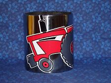 INTERNATIONAL Tractor Swag MAGNETIC Stainless Steel CUP HOLDER, Vinyl IH decal