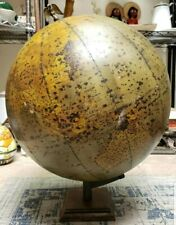 1920-1922 Rand-McNally 16 Inch Simplified and Indexed Physical Political Globe