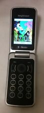 Sony Ericsson Equinox Tm717 - Black (T-Mobile) Flip Cellular Phone Bundle