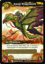 WOW Amani Dragonhawk LOOT CARD UNSCRATCHED NEW - WORLD OF WARCRAFT