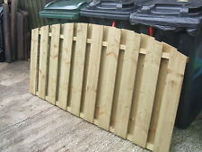 Fence Panels 6' x 3' Double Sided Paling made from Treated Timber(Tanalith E)