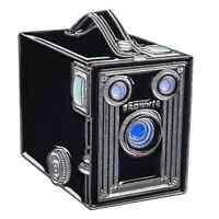 Kodak Brownie Camera Pin. Gift for the 35mm Film Photographer
