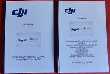 DJI SPARK INSTRCTION MANUAL PLUS  VITAL MANUAL WITH ADDED INFO IN FULL