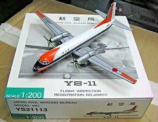 Herpa / Hogan Wings 1:200 YS21113 Japan Civil Aviation Bureau YS-11 JA8610 Model