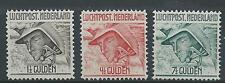 1929TG Nederland Luchtpost LP6-LP8 postfris, mooie serie zie foto!