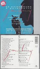 CD--SERGE GAINSBOURG--DE GAINSBOURG A GAINSBARRE