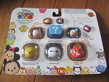 Disney TSUM TSUM Winnie the Pooh Baymax Anger Minnie 9 Pack Series 3 Figures NEW