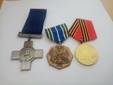 3 Medals joblot number 6