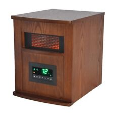 LifeSmart LS-1000X-6W-IN 6 Element Large Room Infrared Quartz Heater w/Wood and