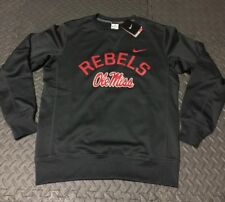 BRAND NEW! Nike Men's Ole Miss Rebels Circuit Therma-FIT Performance Gray Sz L