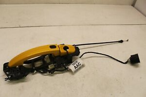 2013 2014 Ford Focus ST oem st3 LH driver side front door handle assembly yellow