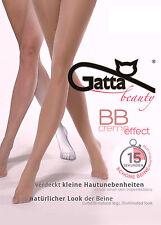 Strumpfhose 15 den Gatta BB Creme Effekt. Für die optisch kleine Hautprobleme