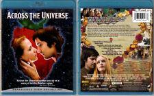 Blu-ray ACROSS THE UNIVERSE Beatles songs music Jim Sturgess US OOP Region A/B/C
