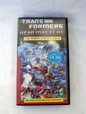 Transformers Head Masters The Rebirth (Parts 1, 2 & 3) PAL VHS 1988