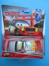 """DISNEY PIXAR CARS-COMMENTATOR """"DARRELL CARTRIP"""" WITH HEADSET #3/4 1:55 SCALE HTF"""