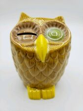 Holland Mold Ceramic Owl Bank