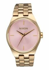NEW Nixon IDOL Watch Light Gold & Pink Stainless Steel Women's A953 2360 $200