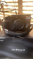 Fujifilm Fuji X-Pro3 26.1MP Mirrorless Digital Camera Body Black