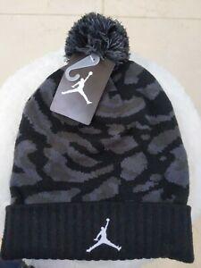 Nike Air Jordan POM BEANIE Camo Big boys New warm supreme