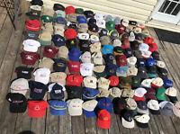 HUGE 123 Vintage To Now Trucker Baseball Hat Cap Lot Strapback SnapBack AS IS
