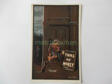 1926 PLAY TONS OF MONEY CHELSEA PALACE THEATRE ADVERTISING PRINTED POSTCARD BSH2