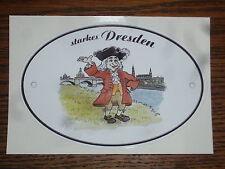 """2x Aufkleber """"starkes Dresden"""" August der Starke Canaletto Sticker Deutschland 1"""