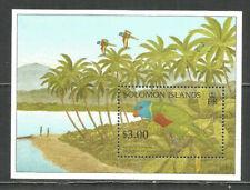 Solomon Islands 1995 year, mint block MNH (**) birds