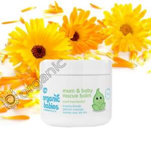 Green People Organic Babies Mum & Baby Rescue Balm 100ml for Perineal Massage