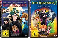 2 DVDs * HOTEL TRANSSILVANIEN 1 + 2 IM SET  # NEU OVP - Transilvanien <