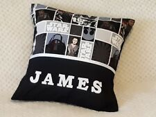 STAR WARS - Child's/Boys/Teens Personalised Name Character Cushion Cover / GIFT
