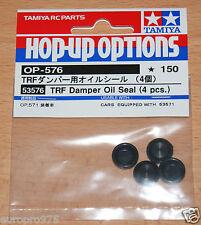Tamiya 53576 TRF Damper Oil Seals (4 Pcs.) (TRF416/TRF416/TRF417/TRF418/TRF419)