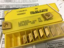 Carbide Milling inserts 1.21501R171 & 1.21501R151