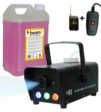 E-Lektron N-410-RGB Nebelmaschine 400W DJ Party LED Effekt inkl. 5L Nebelfluid