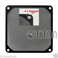 TITAN 120mm Lüfter-Filter Staub Gitter 12cm Netzteil Gehäuse PC Magnethalterung