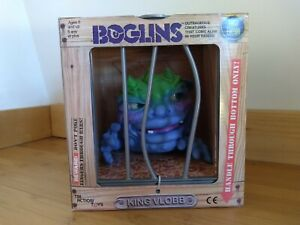 """Tri-Action Toys Boglins King Vlobb 8"""" Foam Monster Puppet - First Edition"""