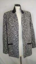 Jolie veste chiné noir gris blanc CAMAÏEU taille 40 NEUVE.