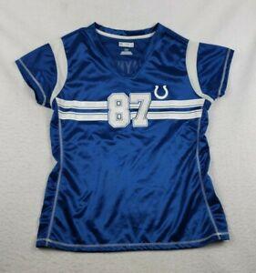 NFL Team Apparel Indianapolis Colts NFL Women's Large Reggie Wayne #87 Jersey