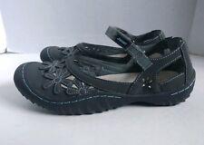 Jambu J-sport Vegan Mary Jane Memory foam All Terra Traction Walking Shoes 8 M